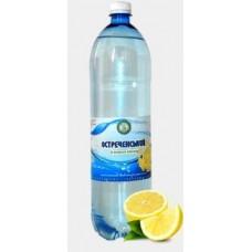 """Напій газований """"Остреченський зі смаком лимону"""", ємність 1,5л."""
