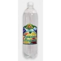 """Вода солодка газована """"Лимон Персик"""", ємність 1,5л."""